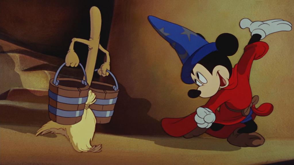 El Aprendiz de Brujo. Fantasía ( 1940)