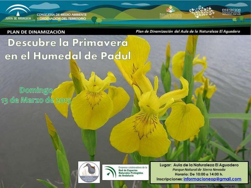 PADUL – Descubre el Humedal en Primavera