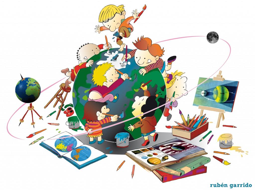 Pintar NiÑos Del Mundo: Pintando El Mundo