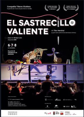 """""""El Sastrecillo Valiente"""" (Títeres Etcétera) @ Palacio de Congresos Granada    Granada   Andalucía   España"""
