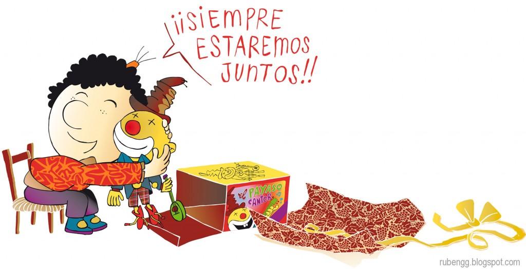 Mis niños. ¡Siempre estaremos juntos!. Rubén Garrido
