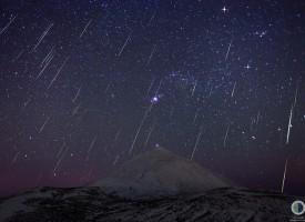 La lluvia de estrellas de las Gemínidas 2015 se verá muy bien por la tarde-noche del día 14