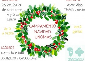 Campamento Navidad Unomas 2015
