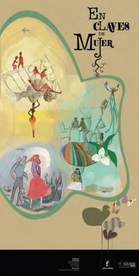 """Cartel """"El claves de Mujer"""" de Pablo Lara"""