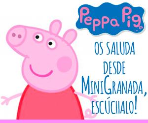 Cristina Yuste como Peppa Pig