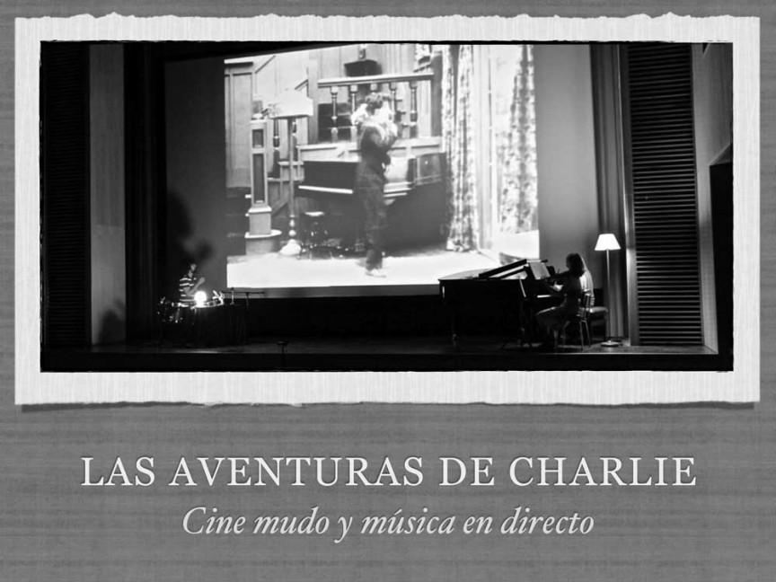 «LAS AVENTURAS DE CHARLIE», cine mudo y música en directo – RETROBACK