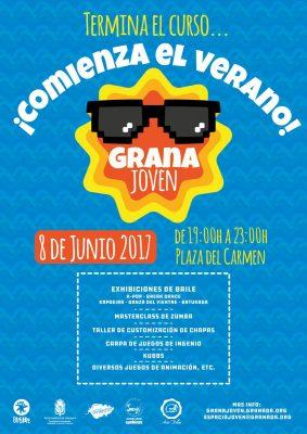 Fiesta Grana-Joven ¡Comienza el verano! @ Plaza del Carmen | Granada | Andalucía | España