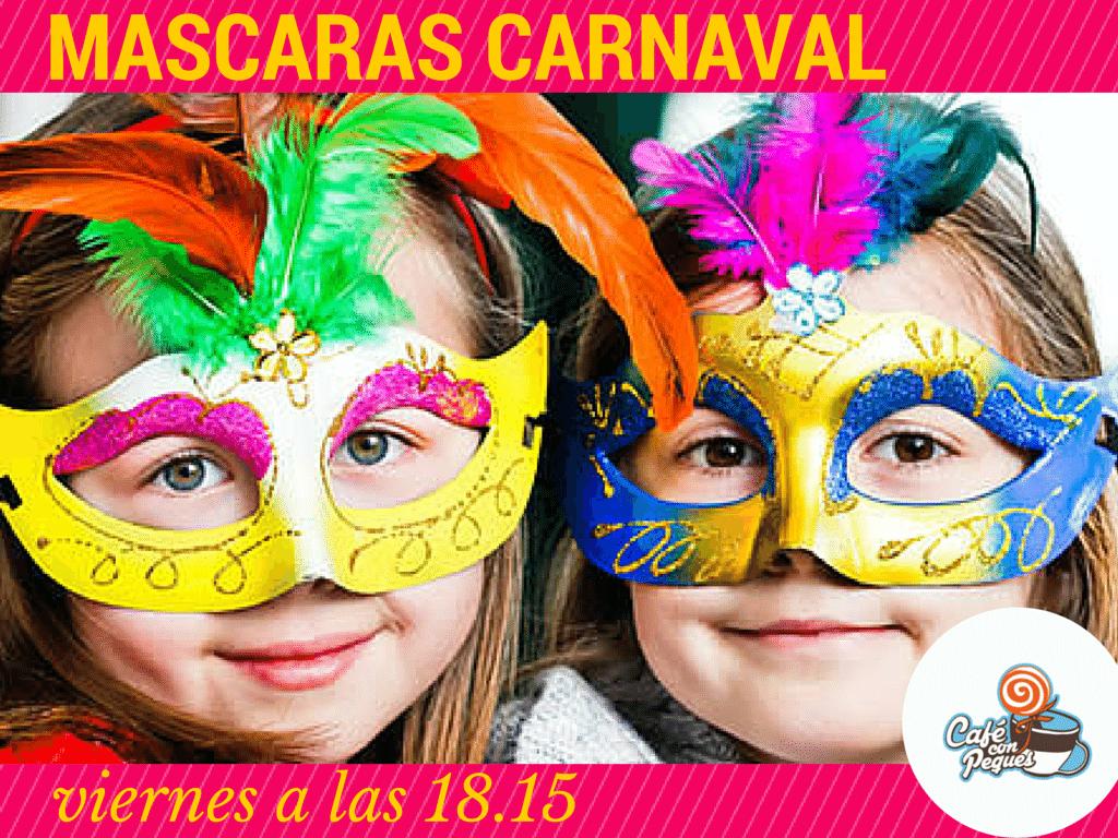 mascaras de carnaval-cafe peques | MiniGranada