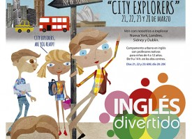 Campus Semana Santa 2016 «City explorers». Inglés divertido