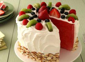 Tarta de sandía