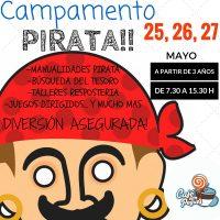 """""""Campamento Pirata"""" durante el Corpus 2016 en Café con Peques"""