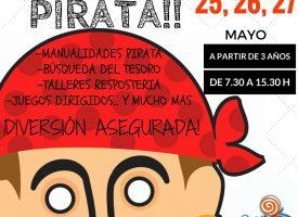 «Campamento Pirata» durante el Corpus 2016 en Café con Peques