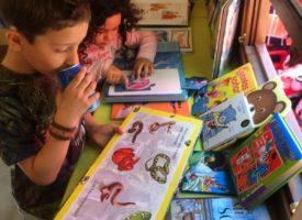 Talleres infantiles y cuentacuentos en la Biblioestación de la Feria del Libro 2016
