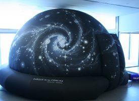 El Planetario infantil del Parque de las Ciencias en la Feria del Libro 2016