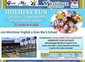 Holiday Fun 2016. Campus Padel Club de Give me 5 School