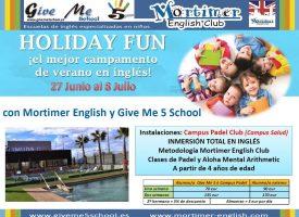 Holiday Fun 2016. Campus Padel Club de Give me 5 School
