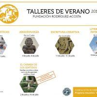 Talleres de verano en la Fundación Rodríguez Acosta –  2016