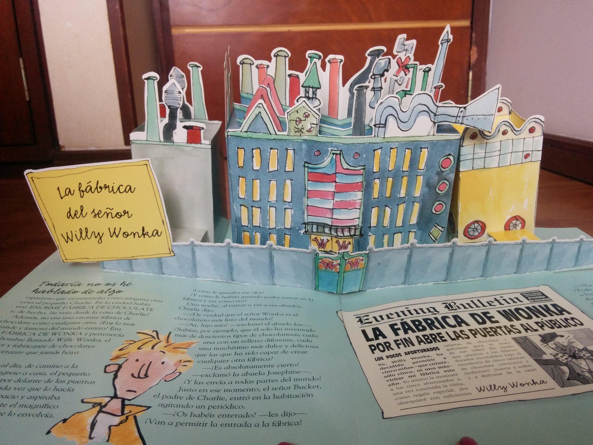 Charlie y la fábrica de chocolate. Libro Pop-up. | MiniGranada