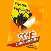 XXXIX Fiestas populares del Zaidín-Vergeles. 2016