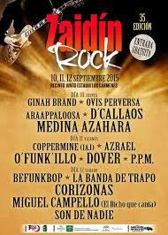 fiestas zaidin rock 2106