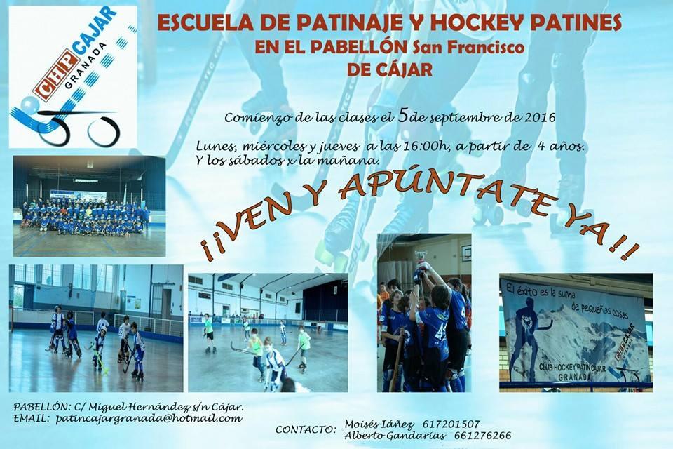 patinaje cajar patin hockey
