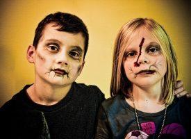 Maquillaje infantil para Halloween 2016