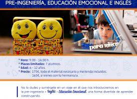 Campamento de navidad con robótica, pre-ingeniería, educación emocional e inglés, con Mindlab Formación (16-17)