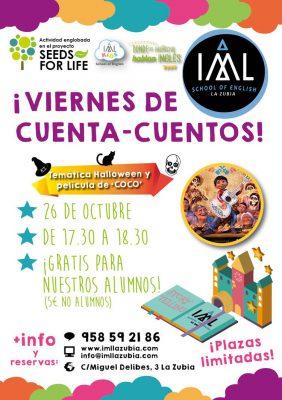 LA ZUBIA - Viernes de Cuenta-Cuentos en inglés @ IML KIDS | La Zubia | Andalucía | España