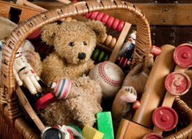 Regala o dona los juguetes que ya no sirvan en casa