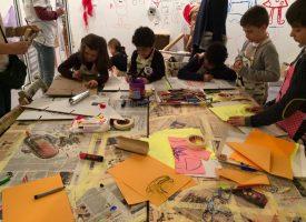 De paseo por Madrid: taller de arte para niños en Arco Kids 2017
