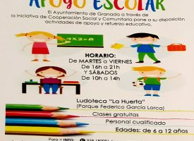 Apoyo escolar gratis en «Ludoteca La Huerta»- 2017