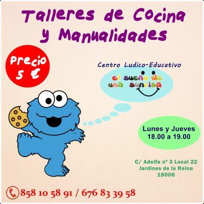 Taller de Cocina y Manualidades @ El sueño de una sonrisa | Granada | Andalucía | España