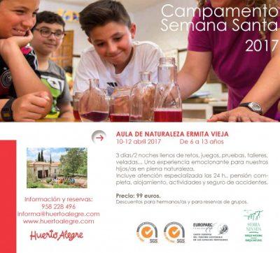 Huerto Alegre-campamento-Semana-Santa-2017