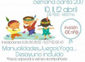 Campamento Urbano Semana Santa (Ilíberis y Mimitos de Piruleta) 2017