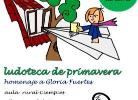 Ludoteca de primavera «La poesia y su prima vera» Gloria Fuertes (Ciempiés) 2017