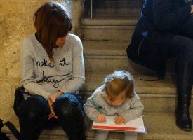 Dibuja en familia en el Museo de la Alhambra 2017