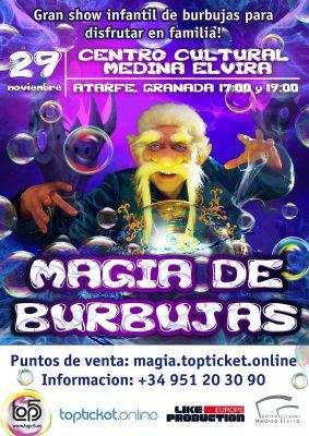 "Show infantil ""Magia de Burbujas"" @ Centro Cultural Medina Elvira de Atarfe   Atarfe   España"