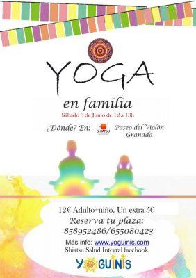 Yoga en familia @ Shiatsu Salud Integral | Granada | España