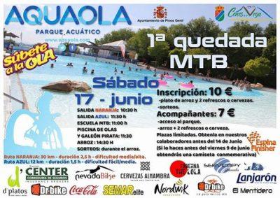 1ª Quedada MTB Aquaola @ Aquaola | Cenes de la Vega | Andalucía | España