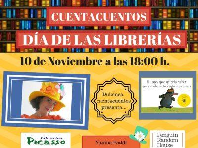 """Cuentacuentos """"El topo que quería saber quién se había hecho aquello en su cabeza"""" @ Librería Picasso Infantil   Granada   Andalucía   España"""