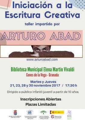 CENES DE LA VEGA - Taller Iniciación a la Escritura Creativa @ Biblioteca Pública Municipal Elena Martín Vivaldi   Cenes de la Vega   Andalucía   España