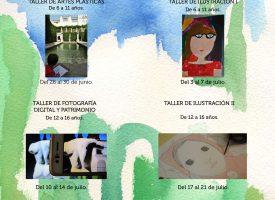 Talleres de verano 2017 (Fundación Rodríguez Acosta)