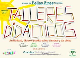 Talleres didácticos gratis en el Museo de Bellas Artes de Granada 2017 (Talleres Animados)