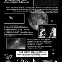 Noches de astronomía en familia en el Cortijo Balderas: El firmamento de Sierra Nevada