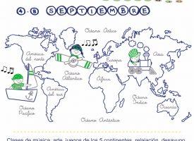 """Campamento urbano """"Música y arte de los 5 continentes"""" de Sonrisas Musicales – 2017"""
