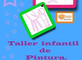 """Taller infantil de pintura"" en Academia Artegio – 2017"