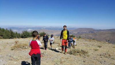 Senderismo en familia. Ruta de las Catifas @ Centro de visitantes El Dornajo | Güejar Sierra | Andalucía | España