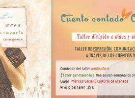 Taller de animación a la lectura «Cuento contado, cuento expresado» (17-18)