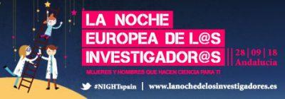 La noche europea de l@s investigador@s 2018 @ Paseo del Salón | Granada | España