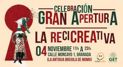 """Fiesta de inauguración """"La ReciCreativa"""" @ La ReciCreativa   Granada   Andalucía   España"""